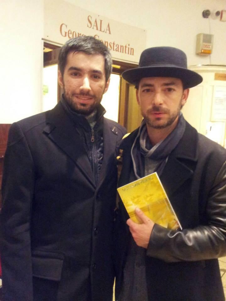 Cu Dan Bordeianu, dupa una dintre premierele de la Teatrul Nottara