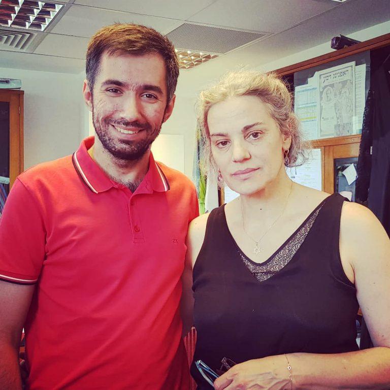 Cu doamna teatrului romanesc, Maia Morgenstern, la o discutie despre curaj si frica