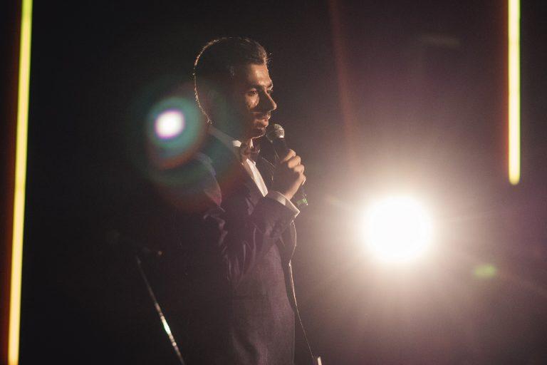 Discurs pe scena cinematografului Baneasa, la premiera Just A Letter