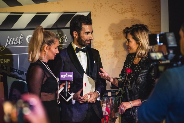 Interviu la Antena 2 cu Gina Pistol la premiera Just A Letter