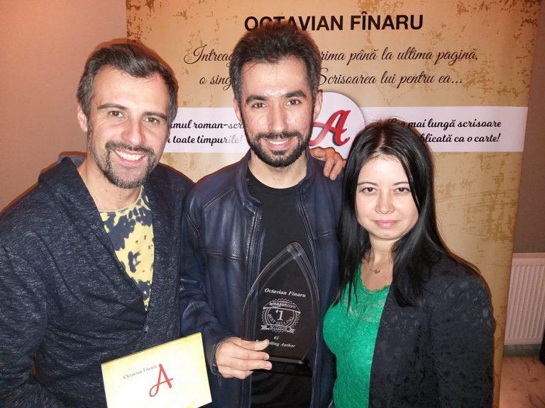 La Bestselling Novel Party, alaturi de Roxana si Bogdan Jinga